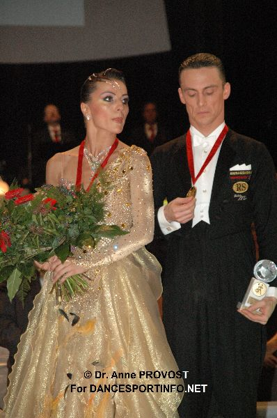 Benedetto & Claudia: 2010 Amateur Standard World Champions!