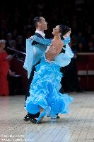 Tomasz Papkala & Frantsiska Yordanova at International Championships 2008