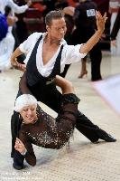 Andre Paramonov & Natalie Paramonov at International Championships 2008