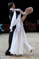 Arunas Bizokas & Katusha Demidova at International Championships 2008
