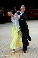 Christopher Short & Elisa Chanaa at International Championships 2008