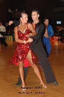 Daniel Juvet & Zuzana Sykorova at 23. German Open Championships