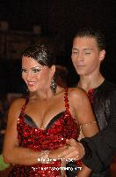 Daniel Juvet & Zuzana Sykorova at German Open Championships 2009