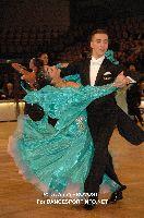Stanislav Portanenko & Nataliya Kolyada at IDSF World Standard Championships