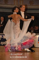 Domen Krapez & Monica Nigro at World Professional Standard Championship