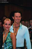 Andrew Cuerden &amp; Hanna Haarala at German Open 2005