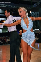 Andrew Cuerden & Hanna Haarala at WDC European Professional Latin Championships 2006