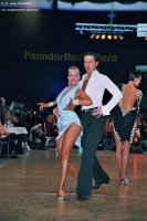 Andrew Cuerden &amp; Hanna Haarala at WDC European Professional Latin Championships 2006