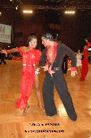 Vincenzo Mariniello & Sara Casini at 23. German Open Championships