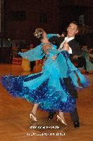 David Moretti & Francesca Sfascia at German Open Championships 2009