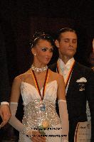 Valerio Colantoni &amp; Yulia Spesivtseva at German Open 2010