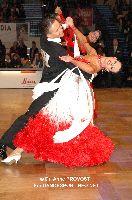 Andrzej Sadecki & Karina Nawrot at IDSF World Standard Championships