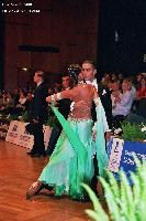 Marco Lustri & Alessia Radicchio at German Open 2005