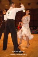 Maxim Stepanov & Viktoriya Konstantinova at Goldstadtpokal 2011