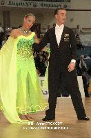 Giuseppe Longarini & Maria Carbonell at 2012 WDSF EUROPEAN DanceSport Championships Standard