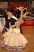 Benedetto Ferruggia & Claudia Köhler at IDSF World Standard Championships
