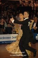 Benedetto Ferruggia & Claudia Köhler at Goldstadtpokal 2011