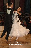 Benedetto Ferruggia & Claudia Köhler at Austrian Open 2011