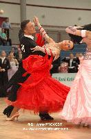 Benedetto Ferruggia & Claudia Köhler at 2012 WDSF EUROPEAN DanceSport Championships Standard