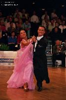 Benedetto Ferruggia & Claudia Köhler at German Open 2005