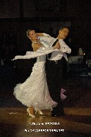 Benedetto Ferruggia & Claudia Köhler at 48. Goldstadtpokal
