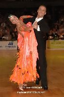Benedetto Ferruggia & Claudia Köhler at German Open Championships 2009