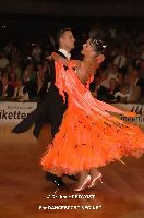 Benedetto Ferruggia &amp; Claudia Khler at 23. German Open Championships