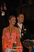 Benedetto Ferruggia & Claudia Köhler at 23. German Open Championships