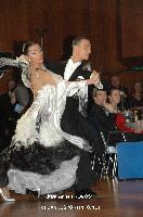 Benedetto Ferruggia &amp; Claudia Khler at 49. Goldstadtpokal