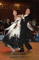 Benedetto Ferruggia & Claudia Köhler at 49. Goldstadtpokal