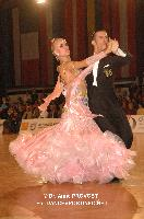 Paolo Bosco & Joanne Clifton at Austrian Open 2011