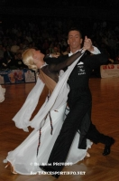 Andrea Ghigiarelli & Sara Andracchio at German Open 2006