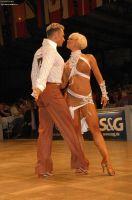 Jesper Birkehoj & Anna Anastasiya Kravchenko at IDSF World Latin Championships