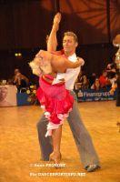 Jesper Birkehoj & Anna Anastasiya Kravchenko at Goldstadtpokal 2007