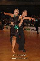 Jesper Birkehoj & Anna Anastasiya Kravchenko at German Open Championships 2009