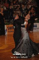 Mirko Francesconi & Milena Cervelli at 23. German Open Championships