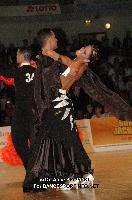 Simone Segatori & Annette Sudol at 2012 WDSF EUROPEAN DanceSport Championships Standard