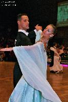 Simone Segatori & Annette Sudol at German Open 2005