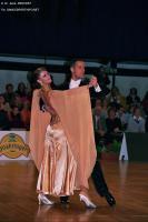 Simone Segatori & Annette Sudol at Austrian Open 2005