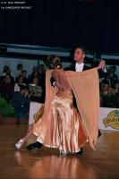 Simone Segatori &amp; Annette Sudol at Austrian Open 2005