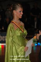 Simone Segatori & Annette Sudol at German Open 2006