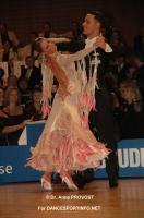 Simone Segatori & Annette Sudol at 47. Goldstadtpokal
