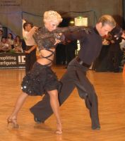 Cedric Meyer & Angelique Meyer at German Open 2006