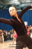 Cedric Meyer & Angelique Meyer at IDSF World Latin Championships
