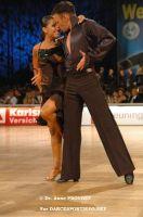 Eugene Katsevman & Maria Manusova at IDSF World Latin Championships