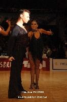 Eugene Katsevman & Maria Manusova at WDC World Professional Latin Championships