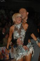Alex Ivanets &amp; Lisa Bellinger-Ivanets at German Open 2006