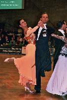 Andrea Zaramella & Letizia Ingrosso at German Open 2005