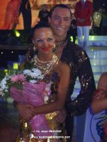 Sergey Sourkov & Agnieszka Melnicka at WDC World Professional Latin Championships 2007