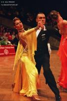 William Pino & Alessandra Bucciarelli at German Open 2005
